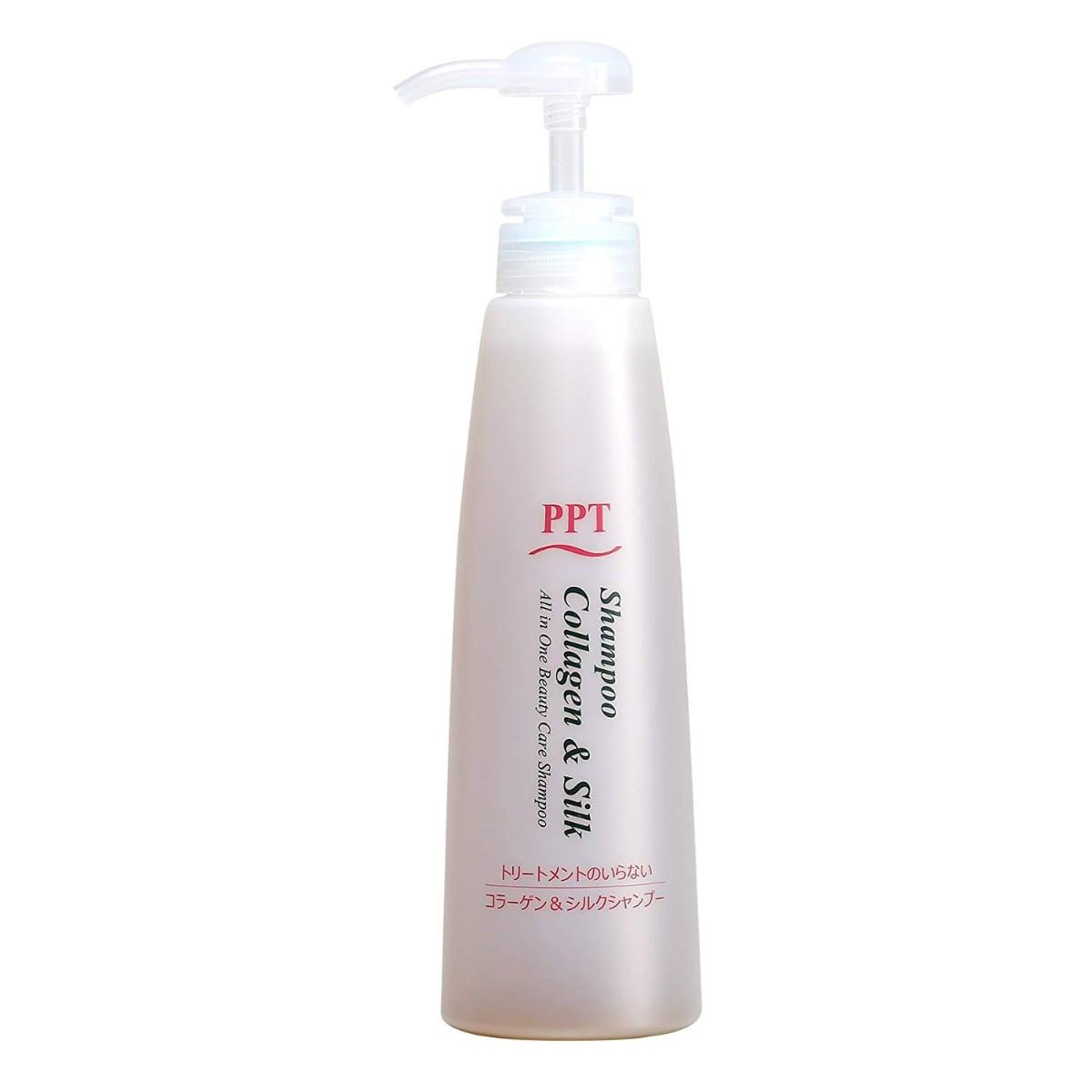 PPTコラーゲン&シルクシャンプー 乾燥肌~普通肌(しっとり)